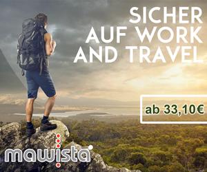 Work and Travel Auslandskrankenversicherung von MAWISTA